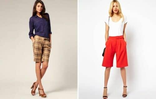 женские модные шорты в 2019-2020 сезоне